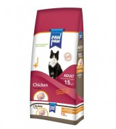 Paw Paw 15Kg Tavuk Etli Yetişkin Kedi Maması