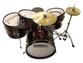 Cremonıa Dset 60drw Junıor Davul Set Metalik Kırmızı 5 Pcs + Zil Ve 5 Pc Junior Drum Set Drum Kits For Kids