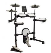 Cremonıa Eds 900 1a Mesh Dıgıtal Davul Eds 900 1 Electronic Drum Kit, 4 Mesh Head Snare Tom Davul Pedleri Mesh Kafa Bas Davul Tetik Pad Bass Davul Pedalı 3 Zil Pedleri