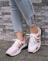 Riani Pudra Cilt Beyaz Detaylı Spor Ayakkabı