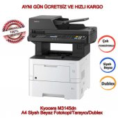 Kyocera M3145dn A4 Siyah Beyaz Fotokopi Tarayıcı Dublex