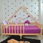 Markaawm Montessori Yatak Çocuk Doğal Çam...