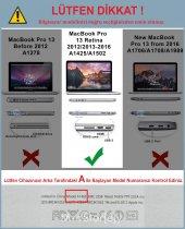 Apple MacBook  Retina  A1502  A1425 13    13.3 inc Kılıf Kapak Koruyucu Ruberized  Hard Incase Sert Kapak    -4