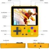 Huongoo Retro El Oyun Konsolu 3 inç HD Arcade 333 Oyun-2