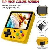 Huongoo Retro El Oyun Konsolu 3 inç HD Arcade 333 Oyun-4