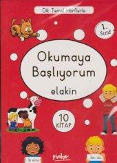 1. Sınıf Okumaya Başlıyorum Elakin 10 Kitap
