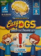 Easy Dikkati Güçlendirme Seti 4. Kademe B 6 9 Yaş 1 Kitap