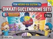 Yeni Neuro Via Sistemi İle Dikkati Güçlendirme Seti 3 Yaş 3 Kitap