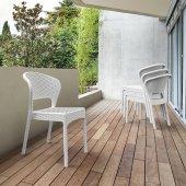 Siesta Rattan Daytona Balkon Bahçe Sandalyesi 2 Adet