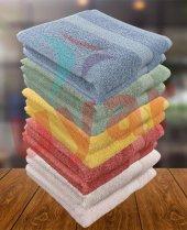 özdilek 2li Colorfull Havlu 40x70 Pamuklu El Yüz Havlusu Colourfull