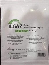 ılgaz Hidrofil Gaz Kompres 12 Adet