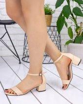 Tori Krem Cilt Tek Bant Ayakkabı