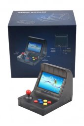 Retro Mini Arcade 16gb 3000 Oyunlu Ekranlı Atari Oyun Makinesi RETROMİNİ16GB-4