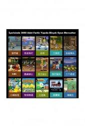 Retro Mini Arcade 16gb 3000 Oyunlu Ekranlı Atari Oyun Makinesi RETROMİNİ16GB-6