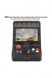 Retro Mini Arcade 16gb 3000 Oyunlu Ekranlı Atari Oyun Makinesi RETROMİNİ16GB-7