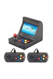 Retro Mini Arcade 16gb 3000 Oyunlu Ekranlı Atari Oyun Makinesi RETROMİNİ16GB
