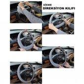 NİSSAN NOTE 2006 VE ÜZERİ DİREKSİYON KILIFI / SİYAH-3
