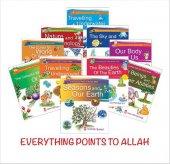 Her Şey Allahı Anlatıyor İngilizce 10 Kitap Set...