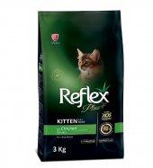 Reflex Plus Tavuklu Yavru Kedi Maması 3 Kg