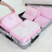 Valiz Bavul İçi Düzenleyici Organizer 6 Lı Set...