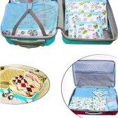 Bavul İçi Düzenleyici Organizer 6 Lı Set (Mavi)...