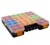 Super Bag Cube 400 21 Bölmeli Organizer Takım Çantası Vida Çivi Düğme Asr 4022