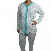 Büyük Beden Bayan Pijama Takımı Battal Boy