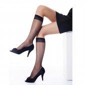 12li Paket Bella Calze İnce Kadın Dizaltı Çorap