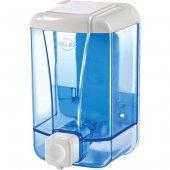 Palex 3420-1 Sıvı Sabun Dispenseri 500 CC Şeffaf Mavi