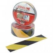 Starline Kaydırmaz Bant (25mm 15mt) Sarı Siyah