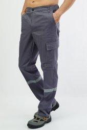 Gabardin Gri Pantolon