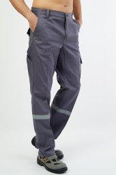 Gabardin Gri Pantolon-2