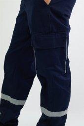 Gabardin Gri Pantolon-4
