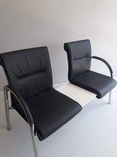 Ofis Misafir İkili Bekleme Sehpalı Koltuğu,büro Sandalye,