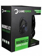 Gamepower Magnus V2 Siyah 3.5mm Rgb Gamıng...
