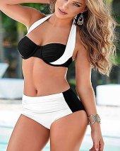 Angelsin Siyah Beyaz Bikini Alt