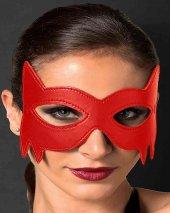 Merry See Kırmızı Deri Göz Maskesi