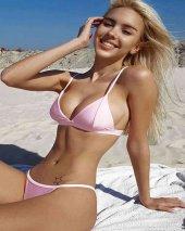 Angelsin Açık Pembe Bikini Alt