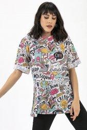 Liplipo Dijital Baskılı T Shirt