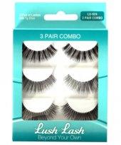 Lush Lash 3'lü Bonus Pack Takma Kirpik