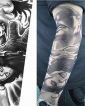Tattoo Şık Motifli Giyilebilir Dövme