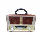 Meier M 112bt Usb Sd Mp3 Bluetooth Şarjlı Nostaljik Radyo