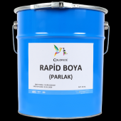 Colorize Rapid Boya Parlak Siyah 18 KG