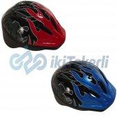 32111 Bisiklet Kaskı Çocuk Bh206 51 55 Cm Erkek Model 2 Desen Askılı Poşet