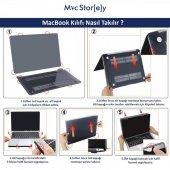 MacBook Kılıf Kristal HardCase Yeni Pro A1706 A1708 A1989 A2159 13 inç Uyumlu Parmak İzi Bırakmaz-6