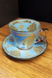 Paşabahçe Dekorlu 6 Kişilik Çay Kahve Fincanı Mg01