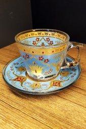 Paşabahçe   Dekorlu 6 Kişilik Çay -Kahve Fincanı-TUR01