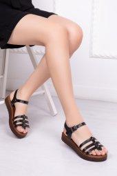 Tarçın Hakiki Deri Günlük Kadın Sandalet...