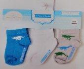 Wonderkids Erkek Bebek 3lü Çorap