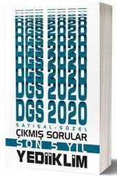 2020 DGS Sayısal Sözel Bölüm Son 5 Yıl Çıkmış Sorular Yediiklim